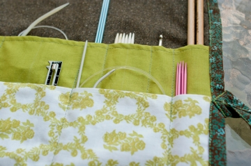 Knitting Pattern Needle Holder : knitting needle holder   indigorchid
