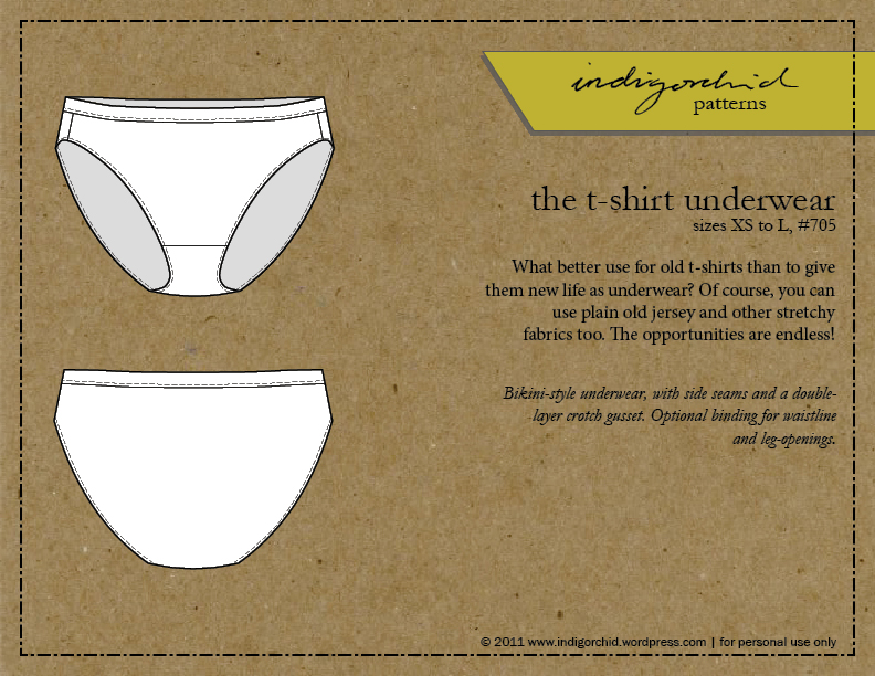sewing underwear: the (free) pattern – indigorchid