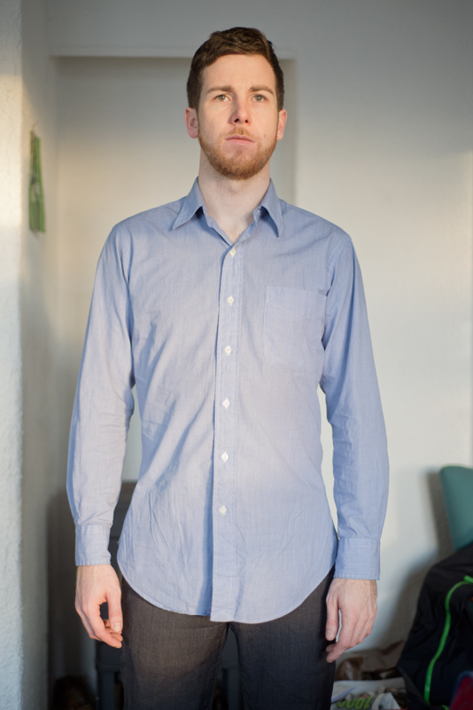 How To Take In A Dress Shirt Part 2 Indigorchid